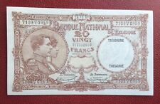 Belgique -Magnifique  Billet de 20 Francs du 28-12-1931 / Unc - rare en cet état