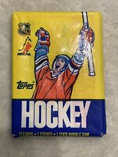 Opened 1986-87 Topps Hockey Wax Pack From PSA 9 Case.