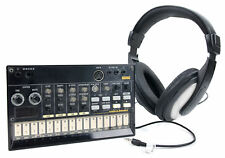 Passive Noise-Cancelling, Stereo Over-Ear Headphones for Korg Volca Synthesizers