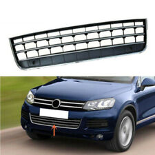 Front Bumper Center Lower Grill Chrome Trim Grille Fit For VW Touareg 7P 11-14