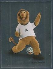PANINI FIFA WORLD CUP-GERMANY 2006- #002-OFFICIAL MASCOT-SILVER FOIL