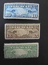 1926-27 - The Airmail Stamp Issue - Scott Catalog #C7-9 MNH
