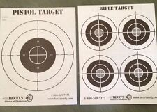 DOUBLE SIDED Shooting Target 100 PACK 9x11Perfect Air Soft Range Sniper Paper