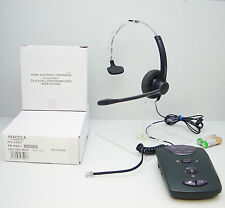 Plantronics SP11-C Monaural Headset + CA-910 Amplifier for Call Centre Telephone