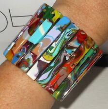 """Sobral Pollock Female 2.25"""" Statement Bracelet Brazil Import"""