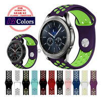 22mm Soft Silicone Sport Band Watch Strap For Samsung Gear S3 Classic / Frontier