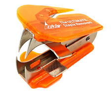 Lot Of 2 Ultimate Erkie Staple Remover With Pliers And Letter Opener Orange