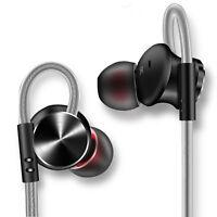 Earphone In Ear Earbuds Bass Music Headset 3.5mm Jack Earplug with Microphone