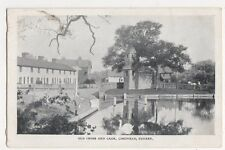 Old Cross and Cage Lingfield Postcard, B355