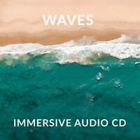 Sounds of Waves CD, For Relaxation Stress Sleep High Quality Recording Waves CD
