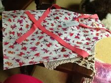Emma Bridgewater cotton, PVC coated Child's Apron , Dancing Mice  pattern