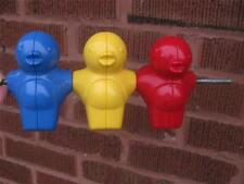 Replacement Red Blue Yellow 3 Birds for Retired Little Tikes Activity Garden EUC