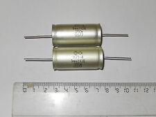 1uF  10% 250V Hi-End Polystyrene capacitors K71-4 Lot 4.