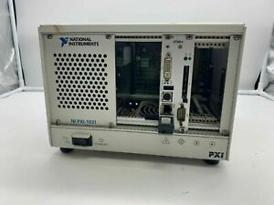 National Instruments PXI-1031 Chassis PN 190871H