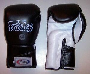 NEW! Fairtex BGV6 Boxing Gloves - Black - 18 oz - Muay Thai Kickboxing MMA UFC