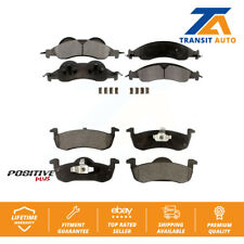Front Rear Semi-Metallic Brake Pads Kit For Ford Expedition Lincoln Navigator