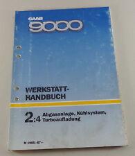 Manual de Taller Saab 9000 Sistema Escape,Refrigeración,Turboalimentación Ab