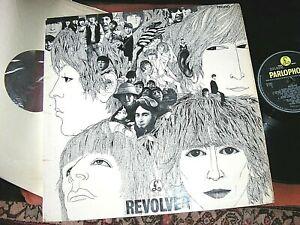 THE BEATLES -     Revolver,     ORIGINAL 1966 UK MONO LP / inner.... DECENT COPY
