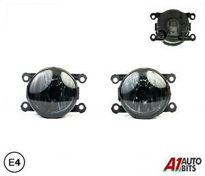 Fits Jaguar S-Type X-Type Smoked Fog Lamp 06 - 13 2X Lights E4 Lh Rh +H11 Bulb