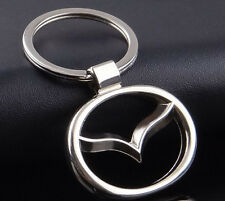 sale Car Logos Titanium Key Chain Car Keychain Ring Keyfob Metal Keyrings mazda