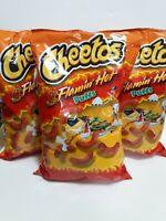 Cheetos Flamin Hot Puffs 8oz (3 Bags)