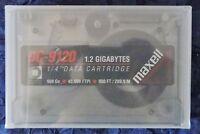 "Maxell DC-9120 1.2GB 1/4"" Data Cartridge - Magnum Tape - unbenutzt / OVP"