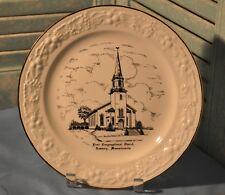 Eggshell Theme Homer Laughlin World Wide Art Newbury Massachusetts Church Plate