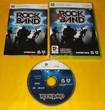 ROCK BAND XBOX 360 Versione Ufficiale Italiana 1ª Edizione ○○ COMPLETO - AI