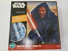 Darth Maul Mosaic Puzzle Star Wars 1000 PC Indoor Activity
