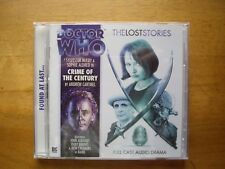 Doctor Who Crime of the Century, 2011 Lost Stories, Big Finish audio book CD