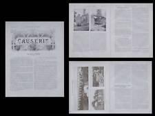 LA CONSTRUCTION MODERNE -n°16 - 1910 - SAINT LAURENT SUR SEVRE, VIADUC DE BARBIN