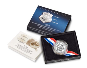 National Law Enforcement Memorial and Museum 2021 Proof Clad Half Dollar