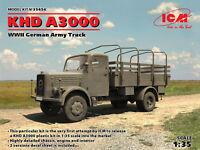 ICM 35454 - 1.35 KHD A3000, WWII German Truck - Neu