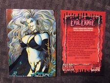1993 Evil Ernie Promo Card #2 Nm Signed 2x Lady Death Steven Hughes Brian Pulido
