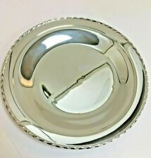 """vintage Towle Sterling Silver Plate """"Silver Flutes"""" plate"""