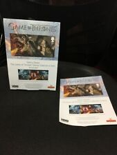 Game of Thrones POST OFFICE A4 PROMOTIONAL CARDBOARD STAND