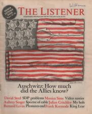 THE LISTENER (16 September 1981)AUSCHWITZ - DE BONO - FRANK KERMODE ON KING LEAR