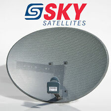 Zone 1 Sky Satellite Dish MK4 And Quad LNB For Sky + HD Plus Freesat PVR