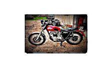 1967 triumph bonneville t120 Bike Motorcycle A4 Retro Metal Sign Aluminium