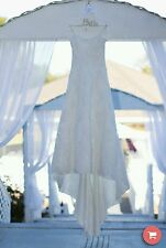 Beautifully Beaded Size 10 Demetrios SPRING SUMMER Wedding Gown / Dress!