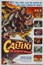 CALTIKI THE IMMORTAL MONSTER Movie POSTER 27x40 Z John Merivale Didi Perego