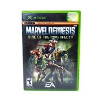 Marvel Nemesis: Rise of the Imperfects (Microsoft XBOX) Complete CIB Tested