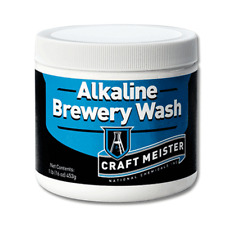 Craft Meister Alkaline Brewery Wash for Beer, Wine, Mead, Coffee, Soda 1 Lb Tub