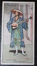 The Mikado  Gilbert and Sullivan  Nanki-Poo   1920's Vintage Card VGC