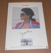Yoko Ono It's Alright 1982 Original Promo Poster Lennon Beatles 22x32 Rare