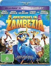 ADVENTURES IN ZAMBEZIA BLU RAY - JEFF GOLDBLUM, SAMUEL L JACKSON FAMILY MOVIE