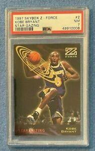 1997-98 Skybox Z-Force Kobe Bryant Star Gazing #2 PSA 7 NM Lakers HOF