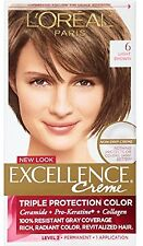 LOreal Excellence Creme, Light Brown [6] 1 Each (Pack of 2)