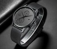 Stainless Steel MVMT Style CHEETAH Chronograph Quartz Date Sports Fashion Watch