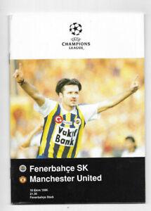 1996/97 UEFA Champions League - FENERBAHCE v. MANCHESTER UNITED